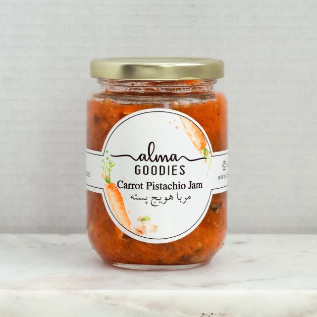 Carrot Pistachio Jam image